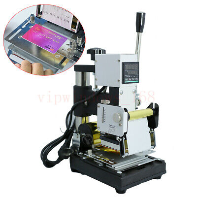 Hot Foil Stamping Printing Machine Credit Pvc Card Embossing Silver Gold Rolls