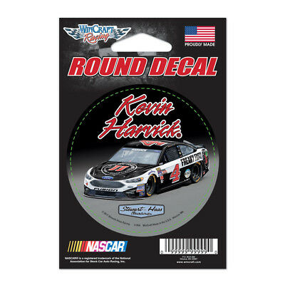 Kevin Harvick 2017 Jimmy Johns Round Vinyl Decal 3  X 3  Nascar
