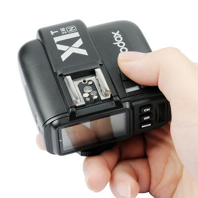 Godox X1T-N TTL 2.4G Wireless Flash Trigger Transmitter for Nikon DSLR Camera US