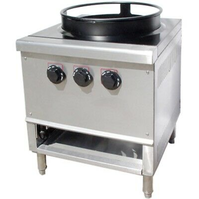 Single Ring Burner 16 Chinese Wok Range Natural Gas Owst-018-3r - Nsf Approved