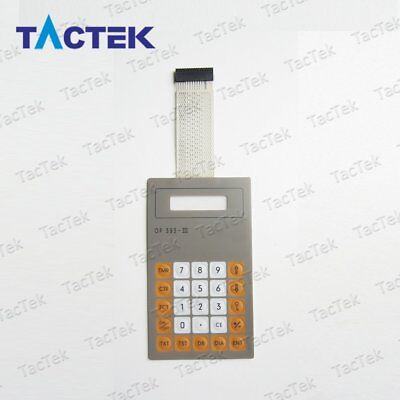 Membrane Keypad Switch Keyboard For 6es5393-0ua14 Op393-iii