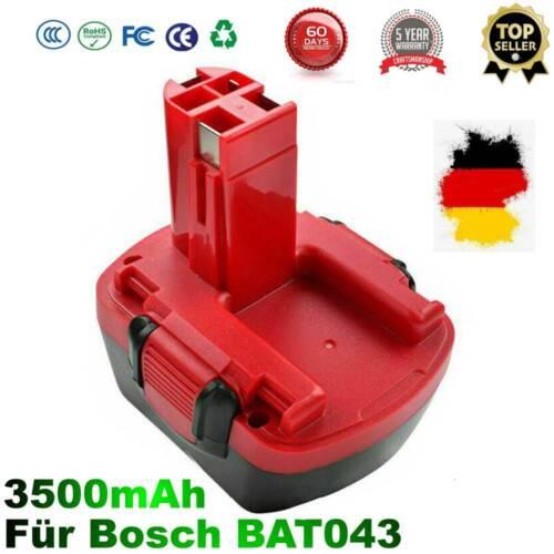 3500mAh 12V Ersatzakku Für Bosch BAT043 BAT045 2607335262 PSR 12VE-2 GSR 12-2 DE