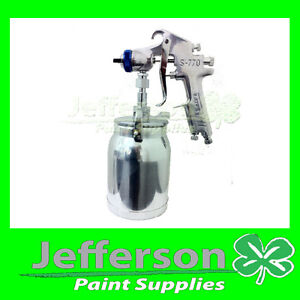 Star-S770-Suction-Feed-Spray-Gun-2-0mm-1LT-Pot-acrylic-primer-2pack-paint