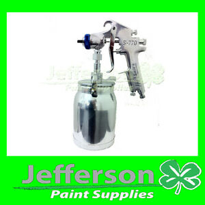 Star S770 Suction Feed Spray Gun 2.0mm 1LT Pot - acrylic / primer / 2pack paint