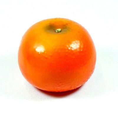 Artificial Tangerine Orange Large - Plastic Decorative Fruit Tangerines Fake