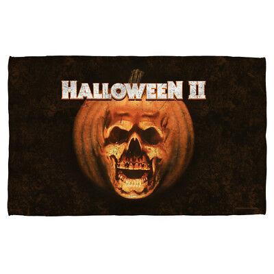 Halloween II Movie POSTER Pumpkin Skull Lightweight Beach Towel - Halloween Ii Pumpkin
