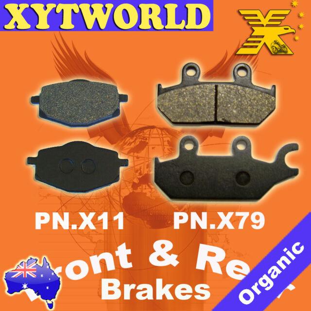 FRONT REAR Brake Pads YAMAHA XTZ 660 Tenere 1991-1993 1994 1995 1996 1997 1998
