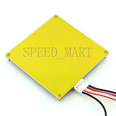 New Pcb Heated Bed 120120mm 12v Mk2b Makerbot Kit For Mendel Reprap 3d Printer