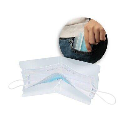 4 pezzi Porta mascherina/custodia,semplice,comoda,utile,borsa,auto