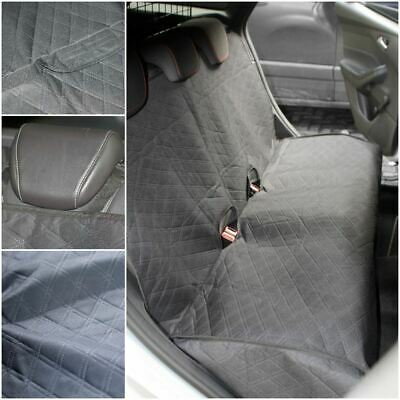 Padded Quilted Rear Car Seat Cover Dog Protector fits Kia Sportage