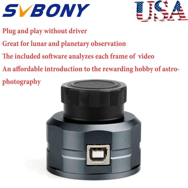 "SV105 1.25"" Telescope Electronic Eyepiece 2MP Astro Camera Aluminum Alloy"