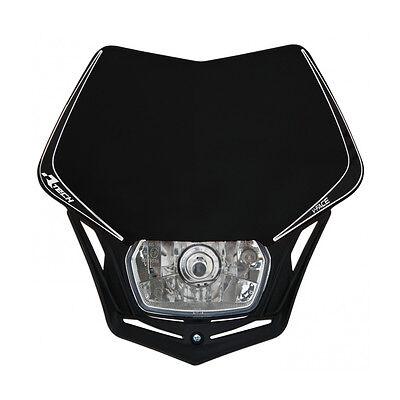 MASCHERINA PORTAFARO RACETECH V-FACE NERA (Black Headlight) - COD.R-MASKNR00008, usato usato  Milano