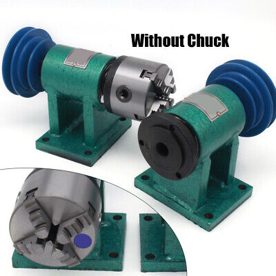 Ce Diy Desktop Metal Lathe Spindle Instrument Home Laboratory Lathe 4 Jaw Chuck