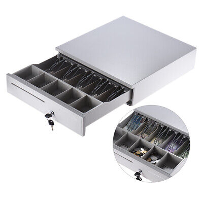 405 Cash Register Drawer Box 5 Bill 5 Coin Tray Compatible Works Pos P1y9