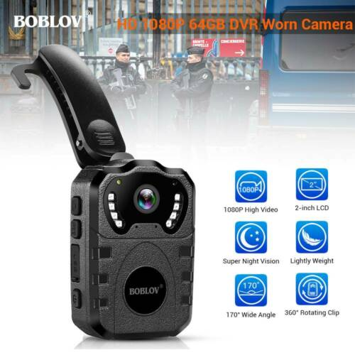 HD 1080P Body Worn Camera Night Vision with Audio Law Enforc