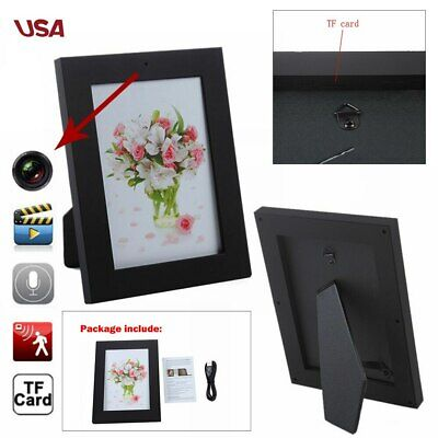 Picture Photo Frame Home Spy Security Camera Hidden Motion Detection Camcorder #