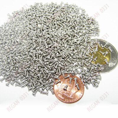 Us Stock M1 M1.2 M1.4 M M1.6 304 Steel Cross Pan Head Electronic Small Screws