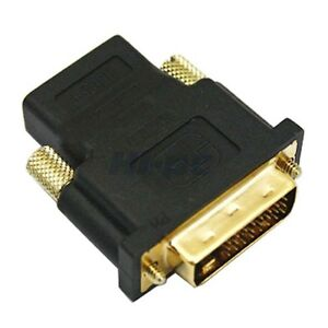 DVI-Male-to-HDMI-Female-M-F-Adapter-Converter-For-HDTV