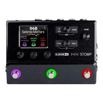 Used, Line 6 HX Stomp Compact Professional Guitar Processor for sale  Shipping to India