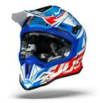 JUST1 J12 DOMINATOR WIT ROOD BLAUW CROSSHELM