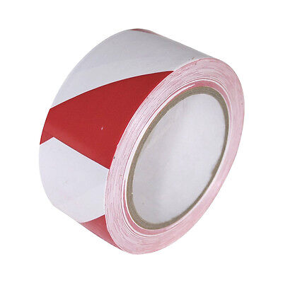Vinyl Floor Safety Marking Tape 2 X 36 Yd 6mil Pvc Redwhite 1 Roll