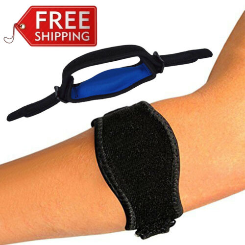 Sports Neoprene Elbow Support Brace Pad Injury Aid Strap Guard Wrap Tennis Band Health & Beauty