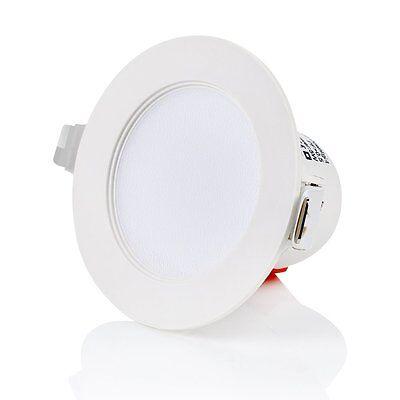Einbauleuchten Badezimmer Beleuchtung (IP44 Einbau-leuchte flach  Badezimmer - 230V,Bad Einbauspot Einbau-strahler 5W)