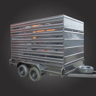10x6 Cattle Cage Trailer Campbellfield Hume Area Preview