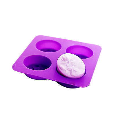 Dragonfly Lotus Flower Oval Silicone Molds for Soap Cold Process Making Supply