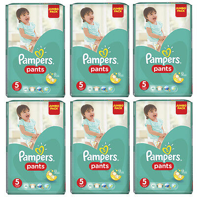 PAMPERS Windeln Pants Junior