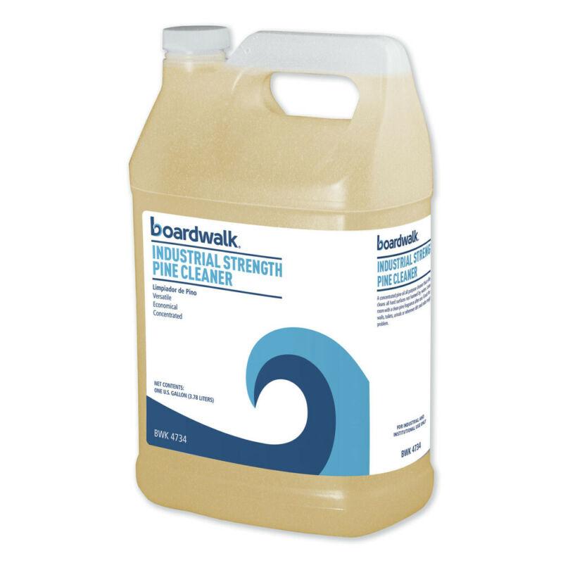 Boardwalk 4734EA Industrial Strength 1 Gal. Bottle Pine Cleaner New