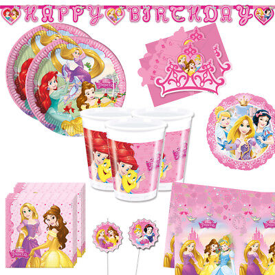 Princess Geburtstag Party (Disney Princess Party Kinder Geburtstag Mega Auswahl Prinzessin Deko Teller Bech)
