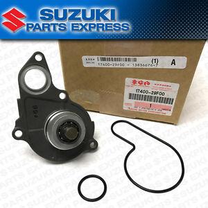 NEW 2003 - 2004 SUZUKI LTZ400 QUAD SPORT LT-Z 400 WATER PUMP ASSEMBLY W/ GASKETS