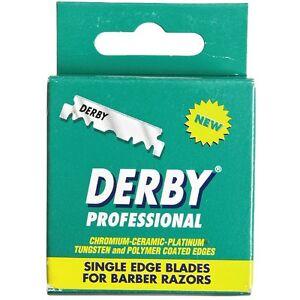 Derby Professional Single Edge Razor Blades 100 ea