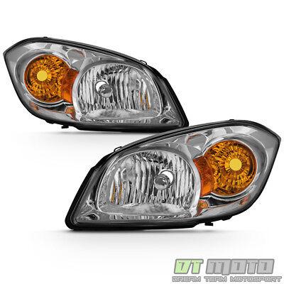 2005-2010 Cobalt 07-10 Pontiac G5 05-06 Pursuit Headlights Headlamps Left+Right