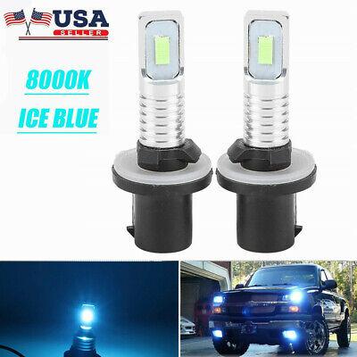 880 893 899 LED Fog Light Bulbs for 99-02 GMC Sierra 1500 2500 HD 6000K
