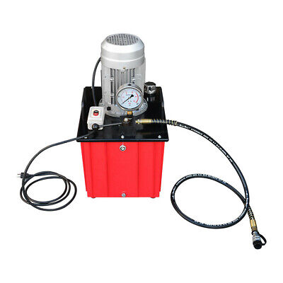 10000 Psi Electric Hydraulic Pump Single Acting Manual Hand Operated