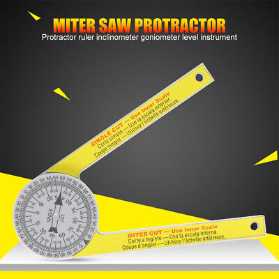 Starrett 505p-7 Miter Saw Protractor With 2 Scales Laser Engraved Dial Accuracy