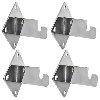 4 Wall Bracket 3x3 Hook Hangers Gridwall Hanging Hook Retail Display Fixture