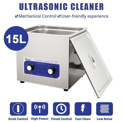 15l Heated Industrial Stainless Steel Ultrasonic Parts Professional Cleaner