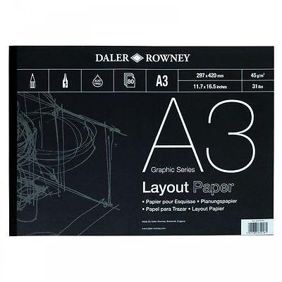 Daler Rowney Layout Pad - A3