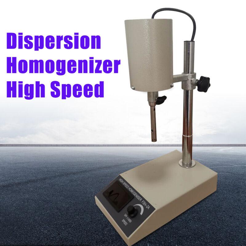 Adjustable High Speed Emulsifying Homogenizer Laboratory Dispenser FSH-2A Lab US