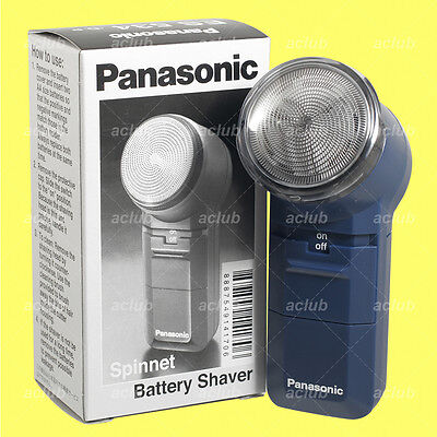 Panasonic ES-534 Compact Travel Electric Men Shaver Razor AA Battery Operated Battery Operated Travel Shaver