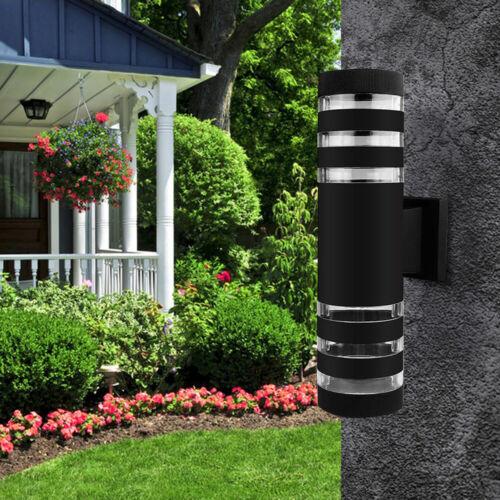 4 Pack Up Down Outdoor Wall Light Waterproof Porch Light Modern Wall Sconce
