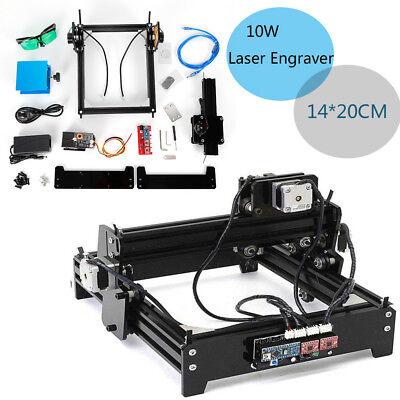 10w Diy Mini Laser Engraver Machine Kit Cnc Router Woodwoking Carve Machine Usb