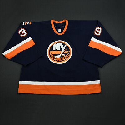 2006-07 Rick DiPietro New York Islanders Game Used Worn Hockey Jersey  MeiGray c67efc270