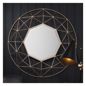 BRAND NEW STYLISH GEOMETRIC MIRROR