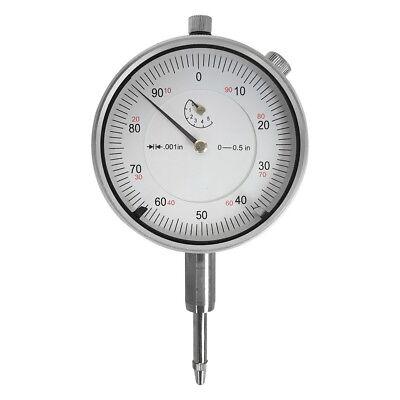 0-0.5 Range High Precision Dial Indicator Lug Back Gauge Gage .001 Grad.