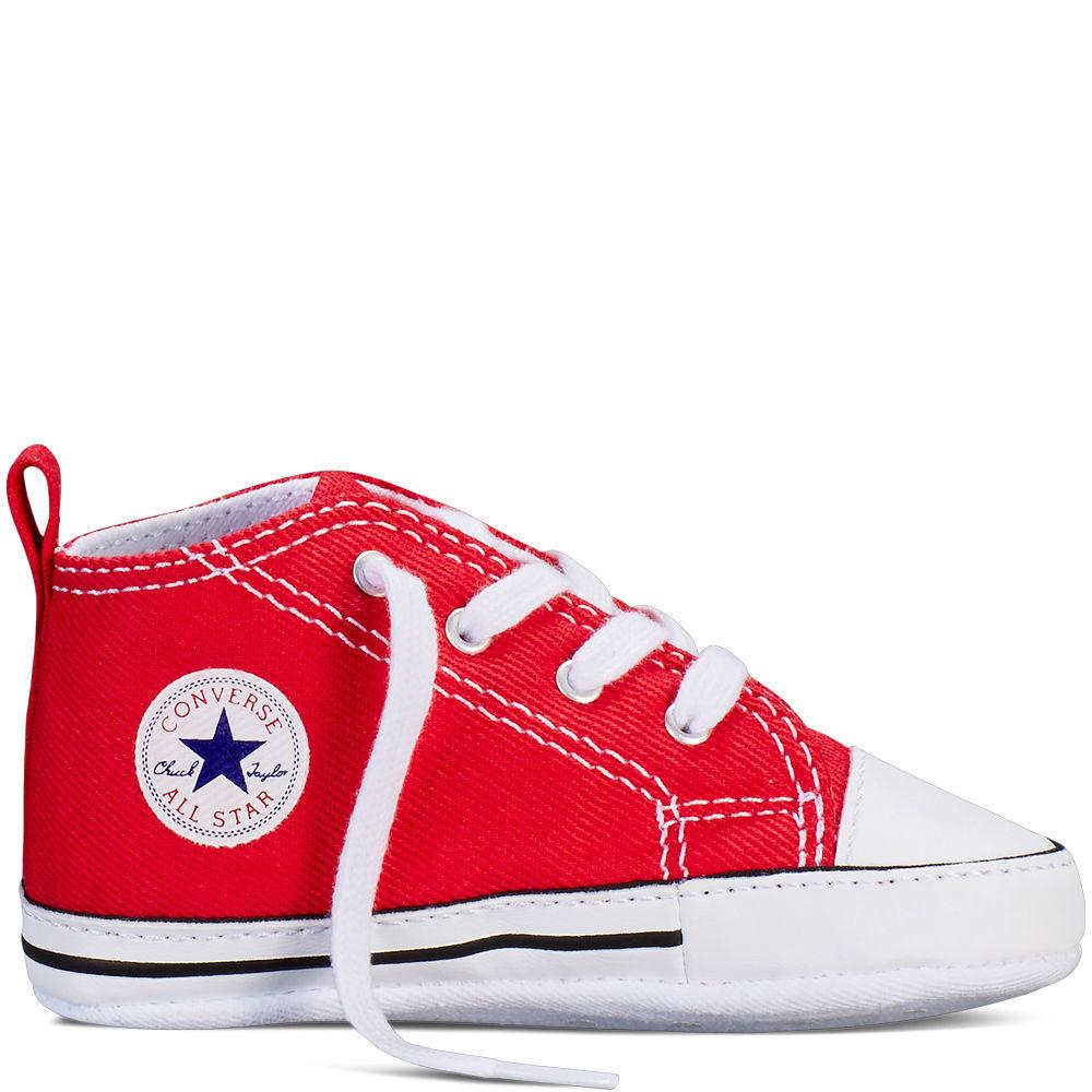 Converse First Star Baby Chuck All Star Chucks Babyschuhe Kinderschuhe rot