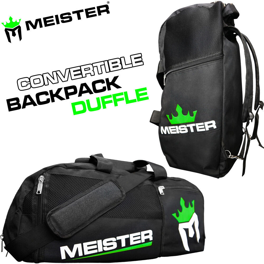 gym bag vented convertible backpack